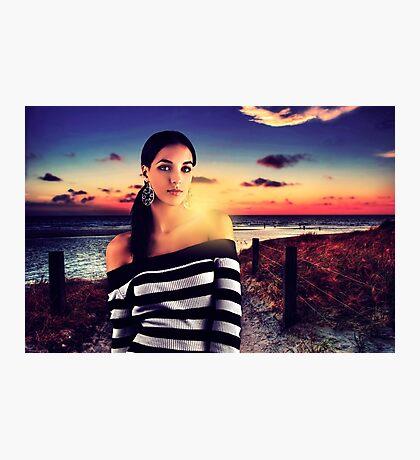 Fashion Sunset Fine Art Print Photographic Print