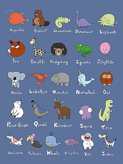 The Animal Alphabet by Gillian J.