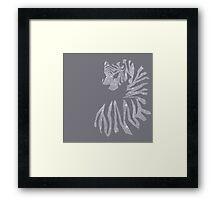 RAW-R Framed Print