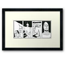 """VIKINGS """"the sentinel"""" Framed Print"""