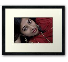 I Love RED!!!!! Framed Print