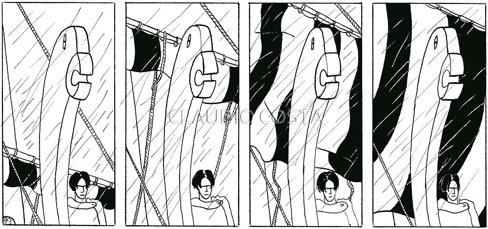 "VIKINGS ""the rain"" by CLAUDIO COSTA"