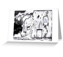 Beauty is Ignorance Greeting Card