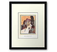 Sinbad the Sailor and other Tales of the Arabian Nights - 1914 - Edmund Dulac - 0075 - Aladdin finds the Magic Lamp Framed Print
