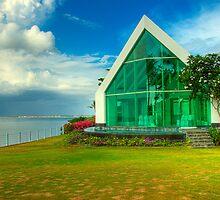 Ayana Wedding Chapel by Calvin Tiono