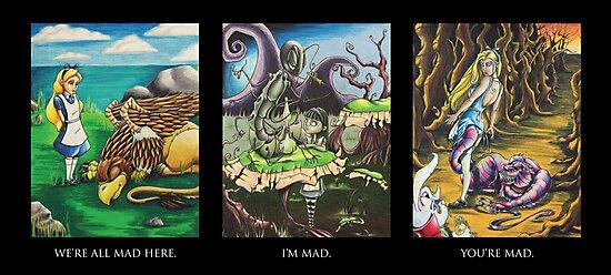 Alice In Wonderland by LaNatra