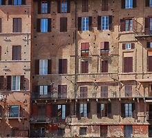 Buildings in Siena by jojobob