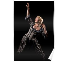 Lady in dark Poster