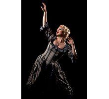 Lady in dark Photographic Print