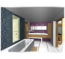 ArchiCAD Render- Barn Conversion- Holiday Home- En- Suite  Poster