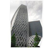 Tokyo Office Buildings  Poster
