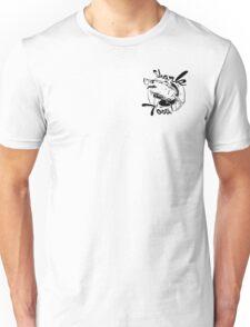 Vintage Shark Tooth Logo Unisex T-Shirt