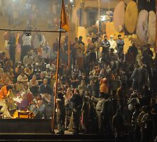 Hindu Ceremony, Varanasi, India 2009 by Michael Sissons