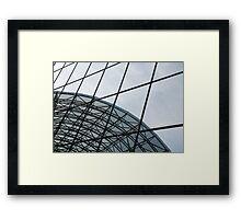 Kyoto Railway Station, Kansai  Framed Print