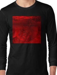 RED-  Art + Products Design  Long Sleeve T-Shirt