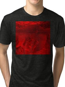 RED-  Art + Products Design  Tri-blend T-Shirt