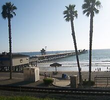 The San Clemente Pier by corinaprice