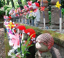 Statues for Unborn Children, Tokyo  by jojobob