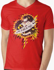 Sharktits Mens V-Neck T-Shirt