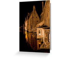 Old House (Brugge, Belgium)  Greeting Card