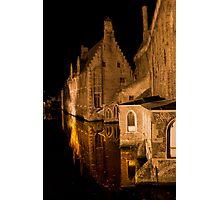 Old House (Brugge, Belgium)  Photographic Print