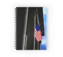 The Flag Spiral Notebook