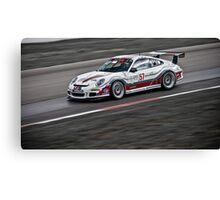 White Photography Transportation Racing Porsche 911 GT3 Challenge Intense Canvas Print