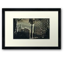 ESB shot with a Clix O Flex Camera. wet plate collodion. Framed Print