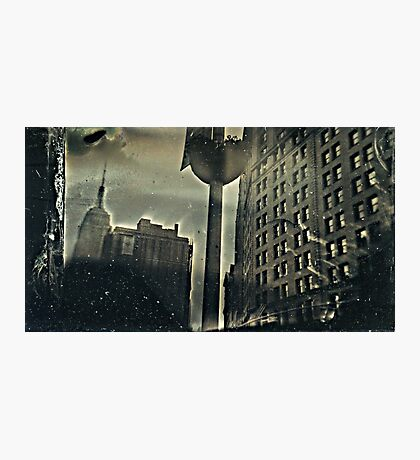 ESB shot with a Clix O Flex Camera. wet plate collodion. Photographic Print