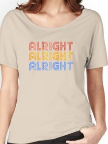 ALRIGHT ALRIGHT ALRIGHT Women's Relaxed Fit T-Shirt