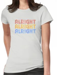 ALRIGHT ALRIGHT ALRIGHT Womens Fitted T-Shirt