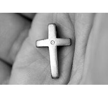 Christian Faith a simple cross Photographic Print