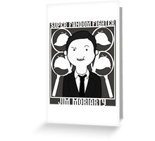 Super Fandom Fighter - Moriarty Greeting Card