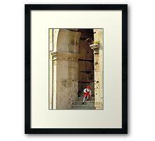 Italian Girl - Rome Framed Print