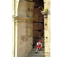 Italian Girl - Rome Photographic Print