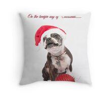 Twelve days of Christmas........ Throw Pillow