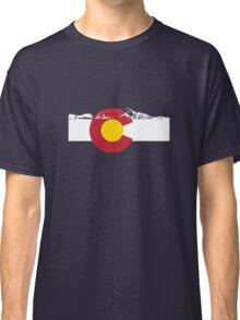 Rocky Mountains - Colorado Flag Classic T-Shirt