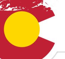 Rocky Mountains - Colorado Flag Sticker