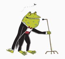 Frog Crooner by David Barneda