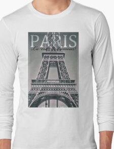 Eiffel Tower, Paris, Ile-de-France, France. Long Sleeve T-Shirt
