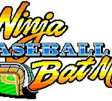 Ninja Baseball Bat Man by Lupianwolf
