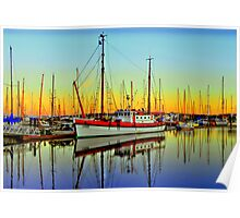 Lindy ~ HDR Series ~ Port Townsend, Washington ~ Poster