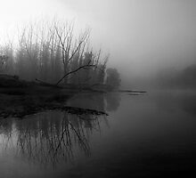 Misty Macdonald River by Ian English