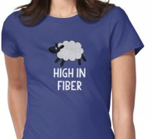 High in Fiber Womens Fitted T-Shirt