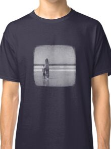 Stand by your Board - Halftone (White) Classic T-Shirt