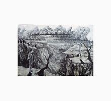 pangaea. 36''x24''. graphite on wood. adam sturch Unisex T-Shirt