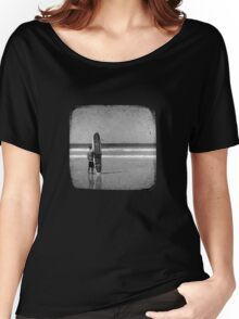 Stand by your Board - Haftone Women's Relaxed Fit T-Shirt