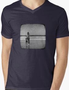 Stand by your Board - Haftone Mens V-Neck T-Shirt