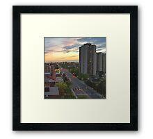 Dixon Rd Framed Print