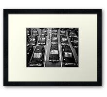 Taxicabs - Toyko Framed Print